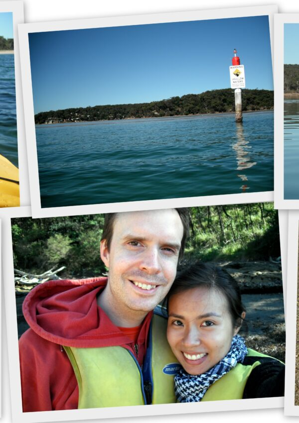 Kayaking in Bundeena