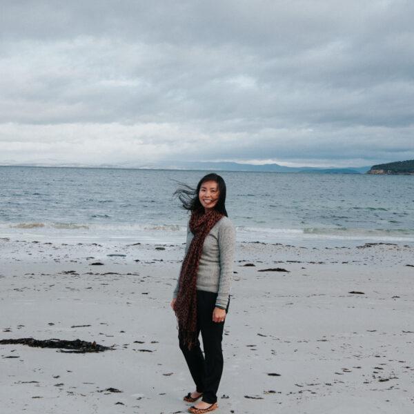 Windswept in Tasmania