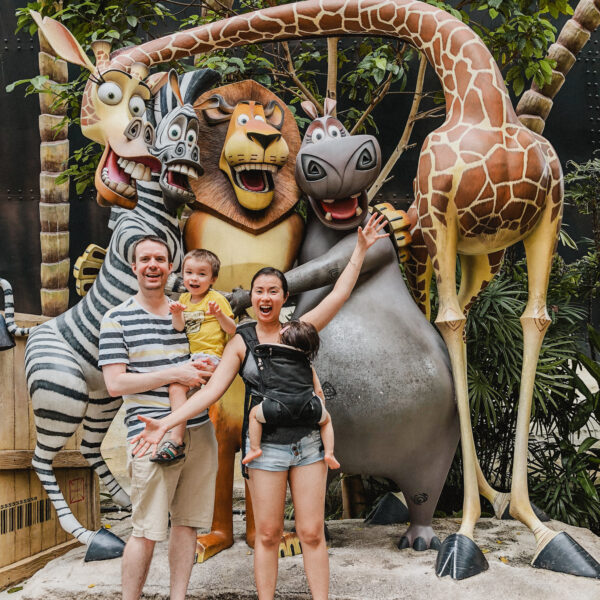 Singapore: A Kiddie Time at Universal Studios